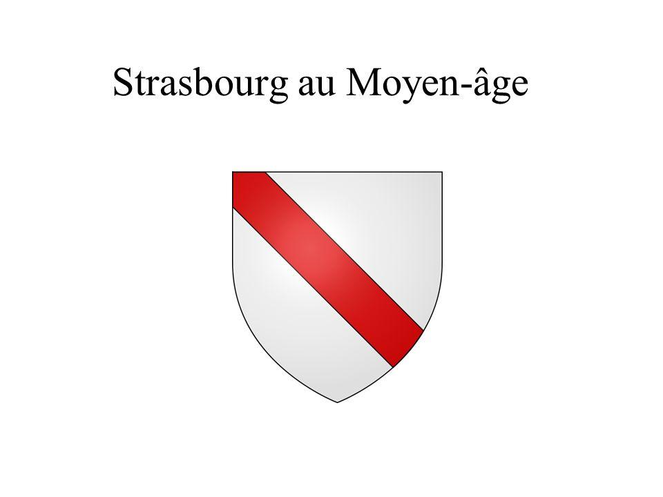 Strasbourg au Moyen-âge