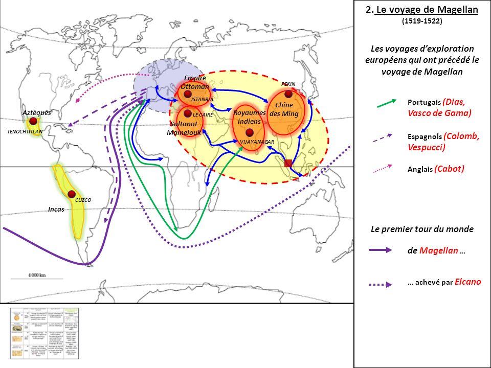 Chine des Ming Royaumes indiens Sultanat Mamelouk Empire Ottoman Incas Aztèques PEKIN CUZCO TENOCHTITLAN ISTANBUL LE CAIRE VIJAYANAGAR 2. Le voyage de