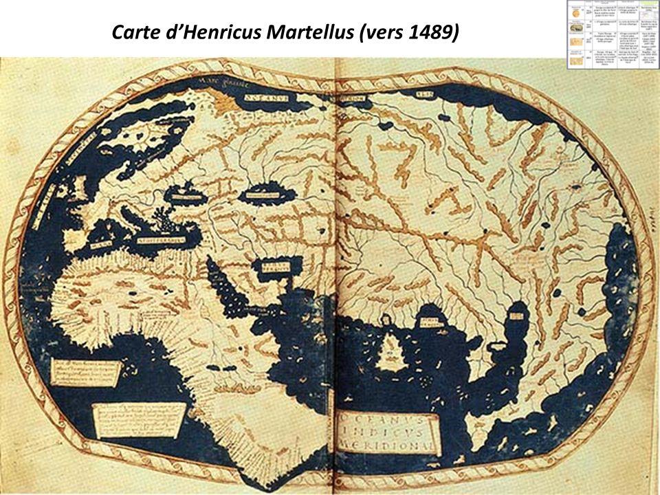 Carte dHenricus Martellus (vers 1489)