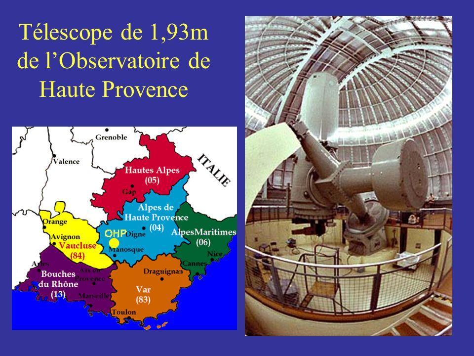 Télescope de 1,93m de lObservatoire de Haute Provence