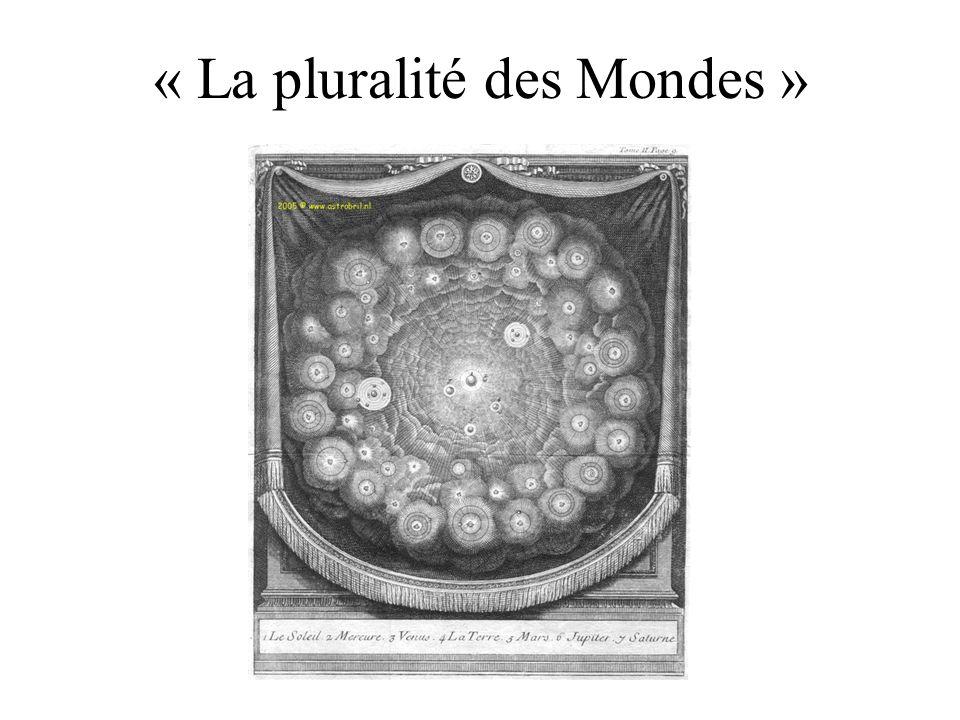 « La pluralité des Mondes »