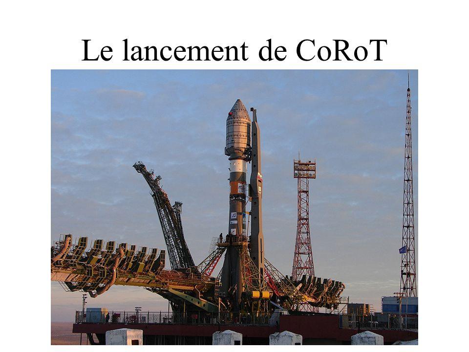 Le lancement de CoRoT