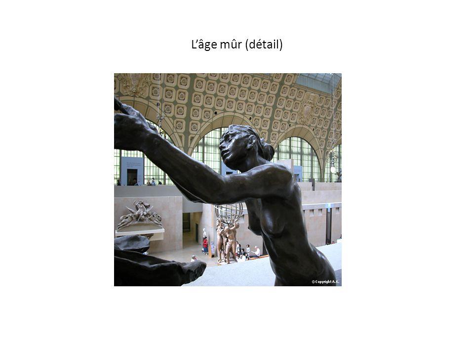 UN ART DE SCULPTER ORIGINAL Ce qui distingue l art de Camille Claudel de celui d Auguste Rodin, en dehors de cette influence naturaliste que le maître apporte à son élève, est la conception asymétrique et déséquilibrée des sculptures de Camille Claudel notamment dans toutes ses œuvres de nature autobiographique : La suppliante , La Valse , l Age Mur sont extrêmement représentatives de ce déséquilibre qui attire, qui envoûte le regard du spectateur, mais qui traduit le déchirement intérieur de l artiste.
