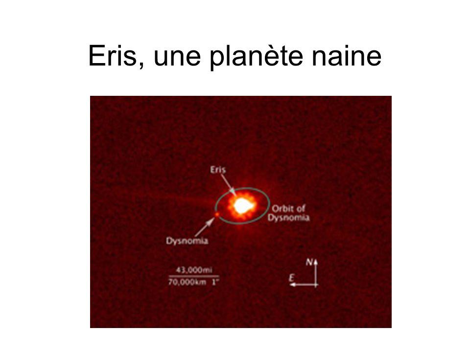 Eris, une planète naine