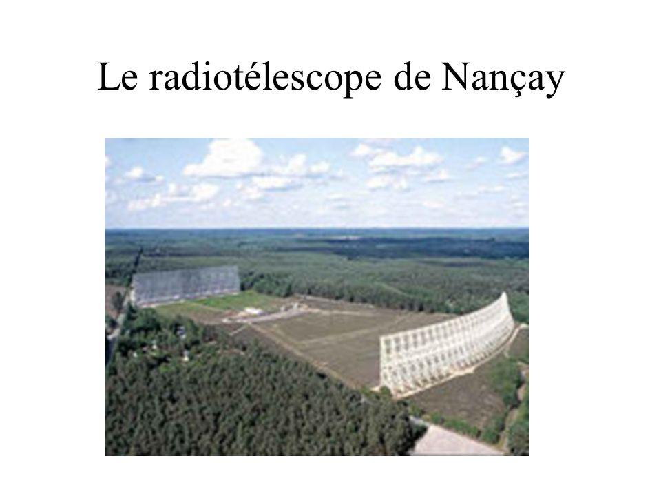 Le radiotélescope de Nançay