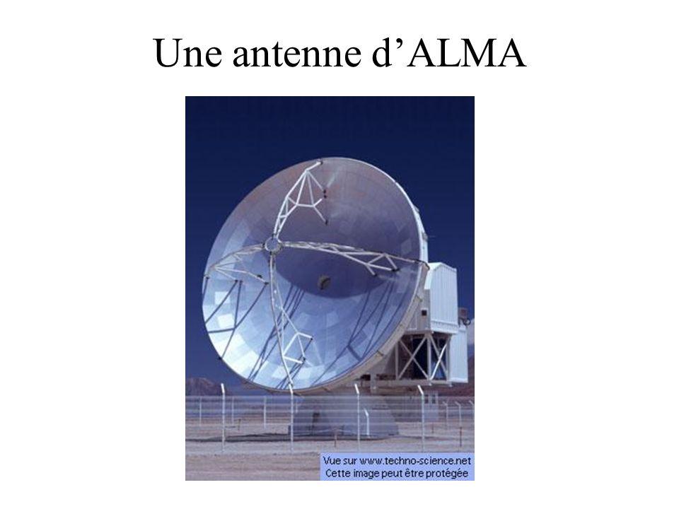 Une antenne dALMA