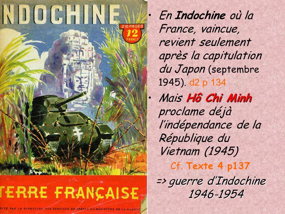 Les revendications dindépendance se radicalisent après la guerre. Japonais nationalisme Les Européens ont perdu leur prestige, en particulier en Asie