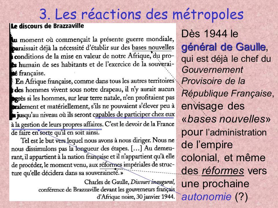 2.A. 2. La remise en cause du colonialisme Linternationalisation contexte internationalLe contexte international après 1945 est particulièrement favor