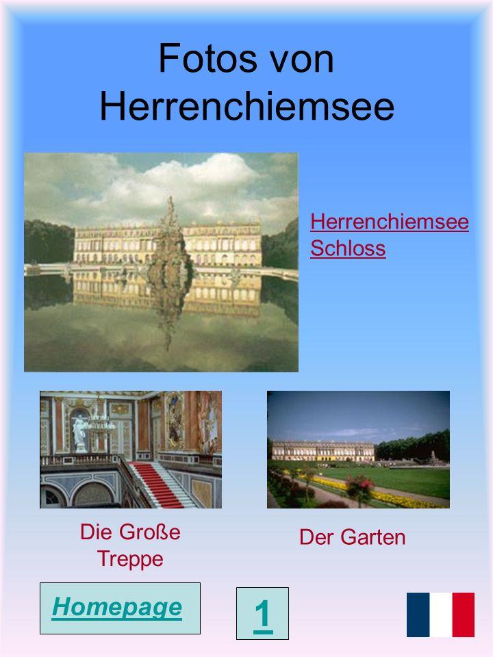 Schloss Herrenchiemsee Das Neue Schloss Herrenchiemsee ist ein Königsschloss auf der Insel Herrenchiemsee im Chiemsee, Bayern und wurde von 1878 bis 1886 unter Ludwig II erbaut.