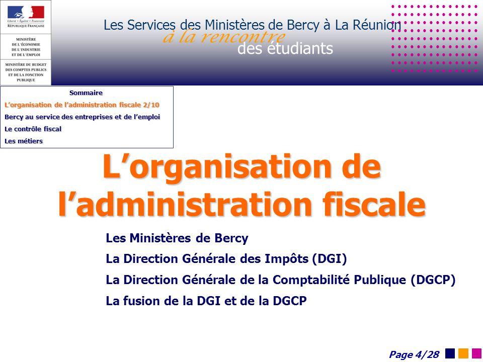 Les Services des Ministères de Bercy à La Réunion à la rencontre des étudiants http://www.entreprises.gouv.fr De la création à la transmission La boîte à outils Page 15/28