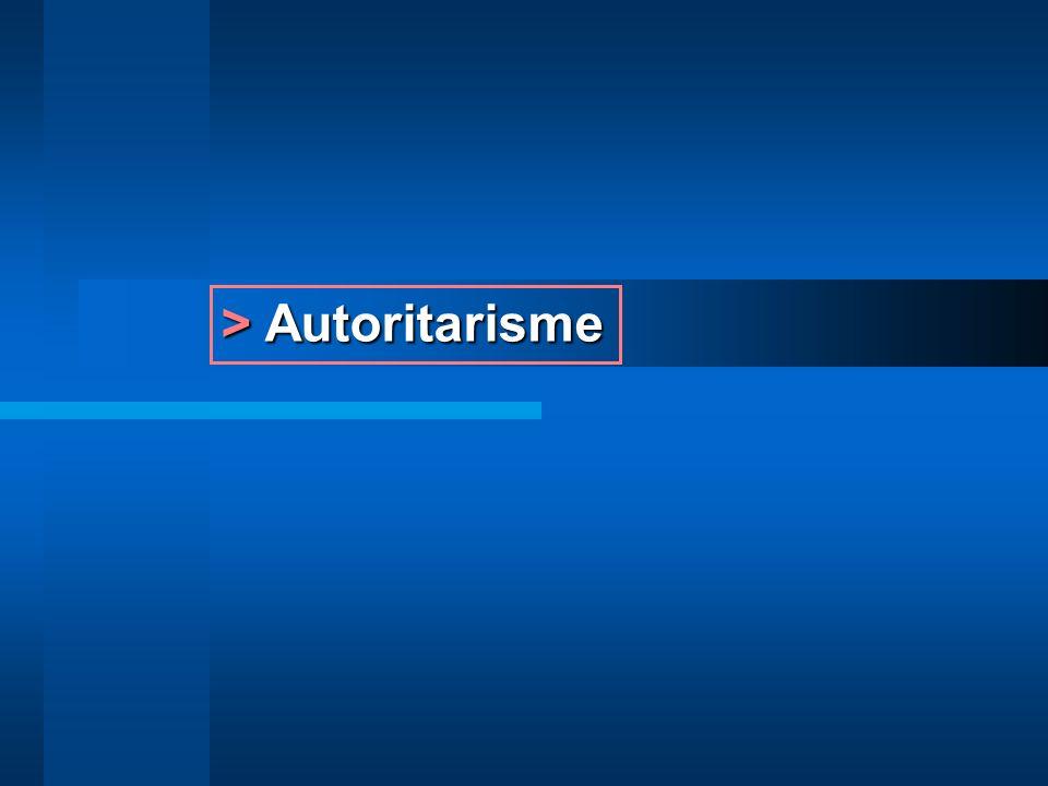 > Autoritarisme