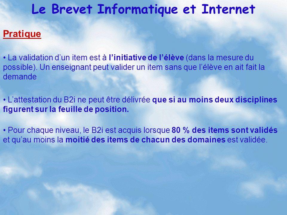 Modalités de mise en place Le Brevet Informatique et Internet Harmonisation Conseil d enseignement -Réflexion -Analyses -Pratiques -Échanges -Répartition -...