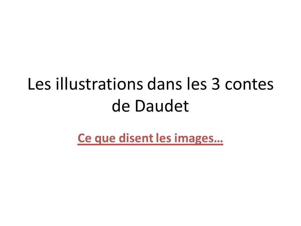 illustration de Légende : La chèvre de M.Seguin Une chèvre en grand danger Image 1 : Quels personnages voyons-nous .