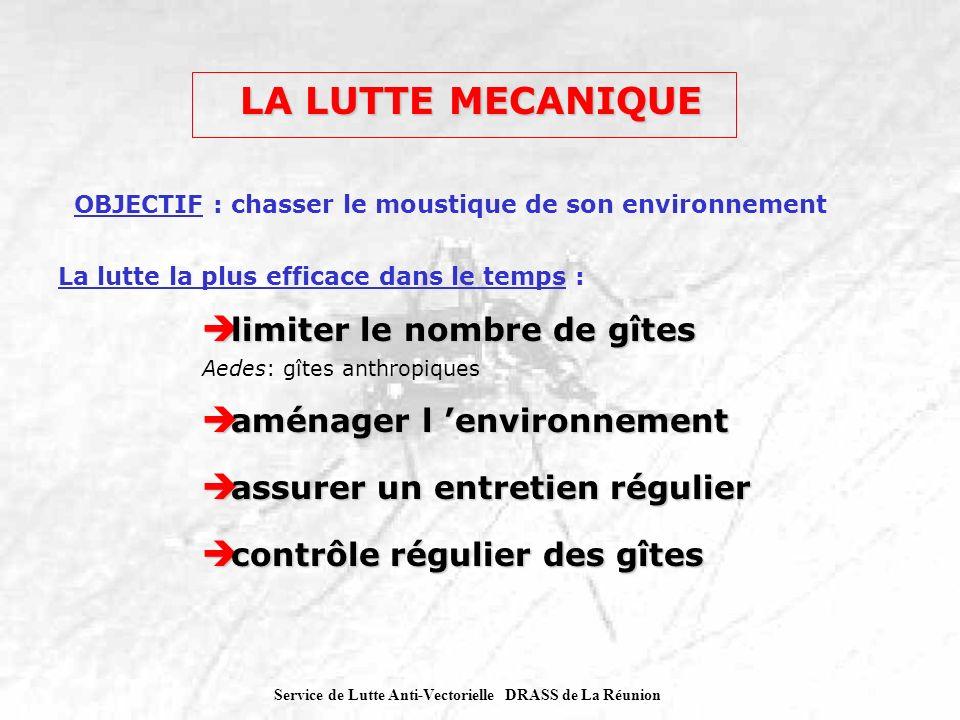 Service de Lutte Anti-Vectorielle DRASS de La Réunion exemple de gîtes à Aedes exemple de gîtes à Aedes
