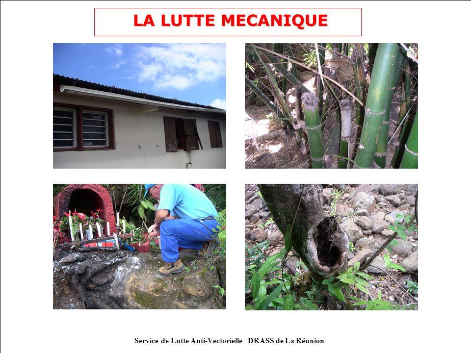 Service de Lutte Anti-Vectorielle DRASS de La Réunion Le message sanitaire (2) Comment éliminer les gîtes à moustiques.