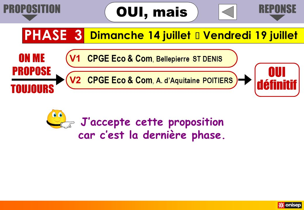 ON ME PROPOSE TOUJOURS OUI définitif V1 CPGE Eco & Com, Bellepierre ST DENIS V2 CPGE Eco & Com, A. dAquitaine POITIERS Jaccepte cette proposition car