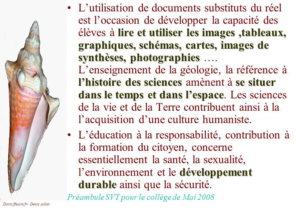 Doris.ffessm.fr- Denis Adler lire et utiliser les images,tableaux, graphiques, schémas, cartes, images de synthèses, photographies lhistoire des scien
