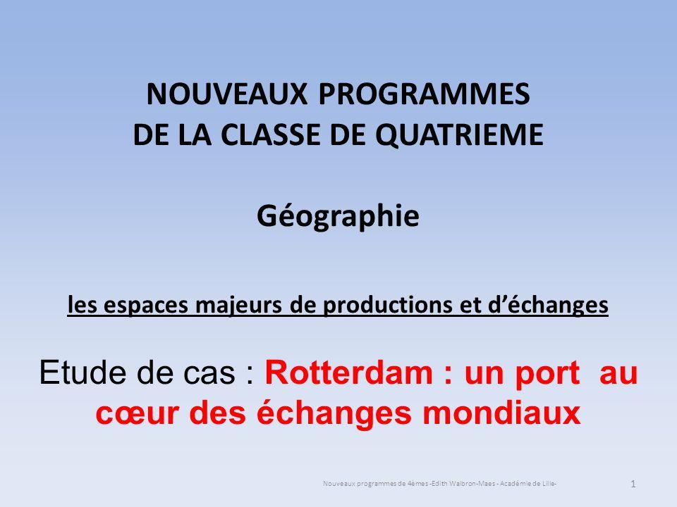 24/05/11 Nouveaux programmes de 4èmes -Edith Walbron-Maes - Académie de Lille- Lévaluation .