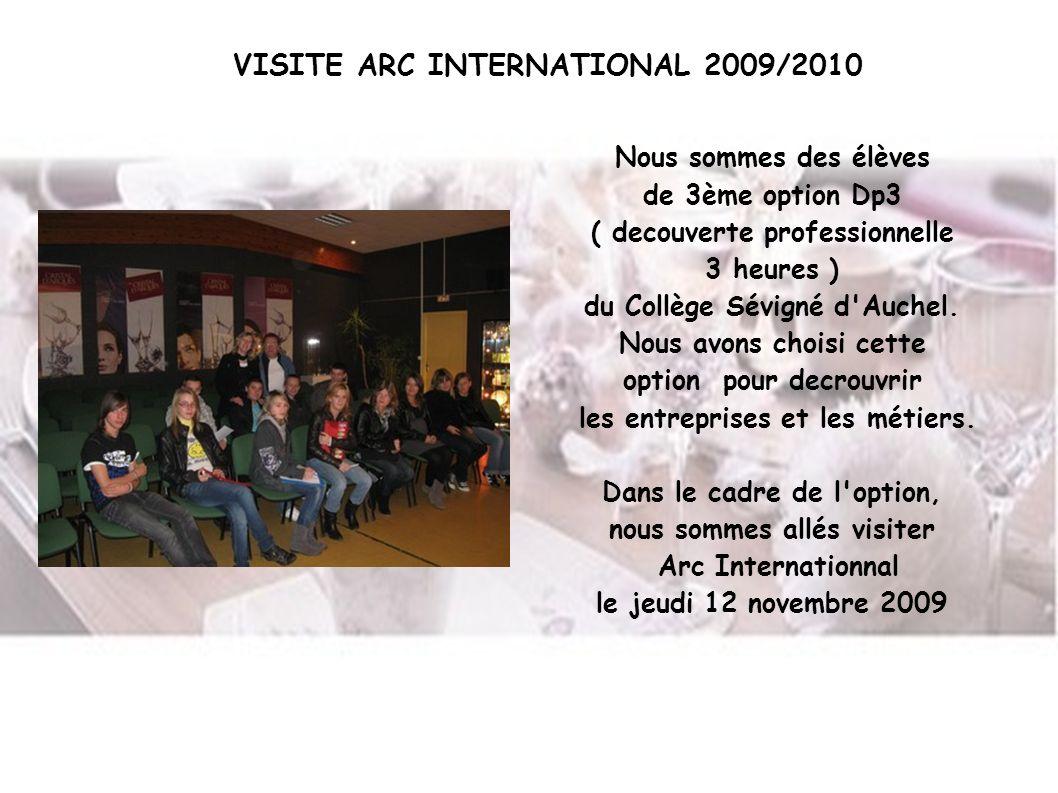 Nous sommes des élèves de 3ème option Dp3 ( decouverte professionnelle 3 heures ) du Collège Sévigné d'Auchel. Nous avons choisi cette option pour dec