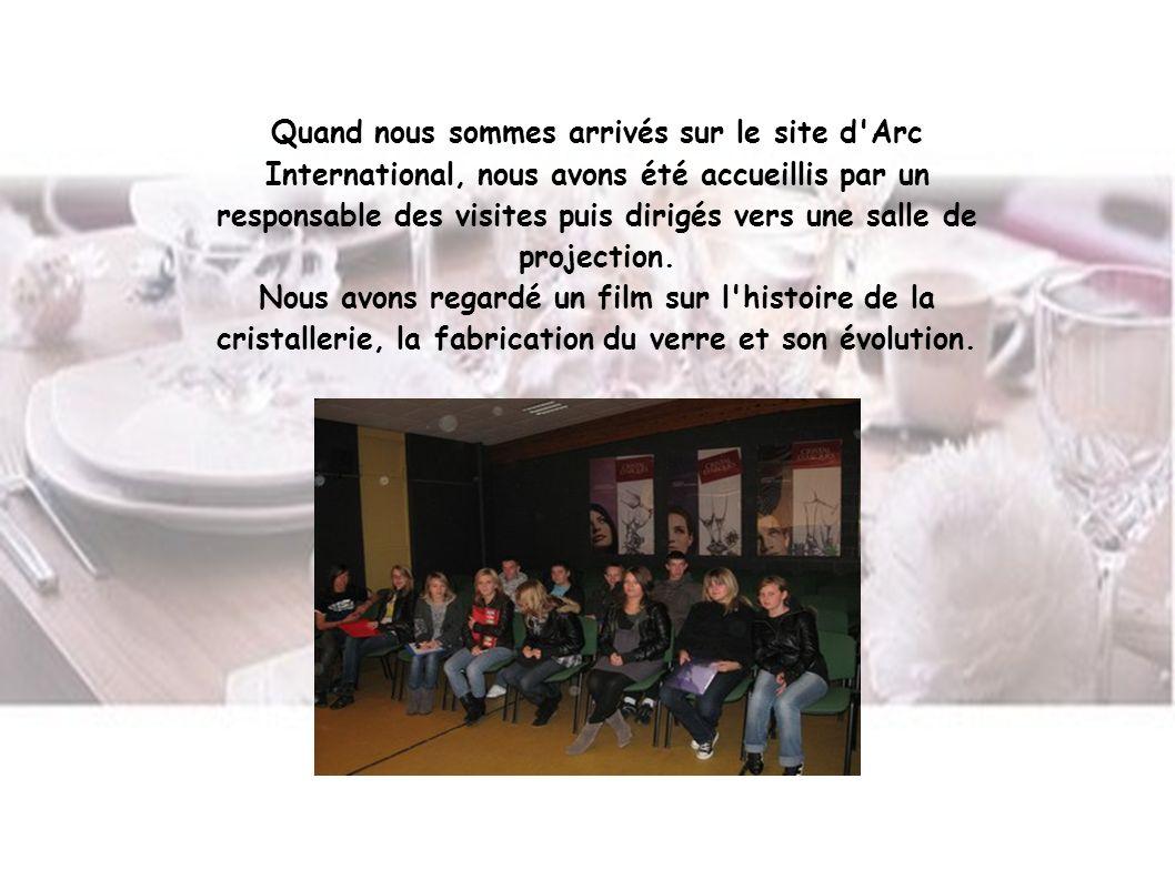 Ce film nous a montré aussi les différentes régions où l entreprise est implantée en France.