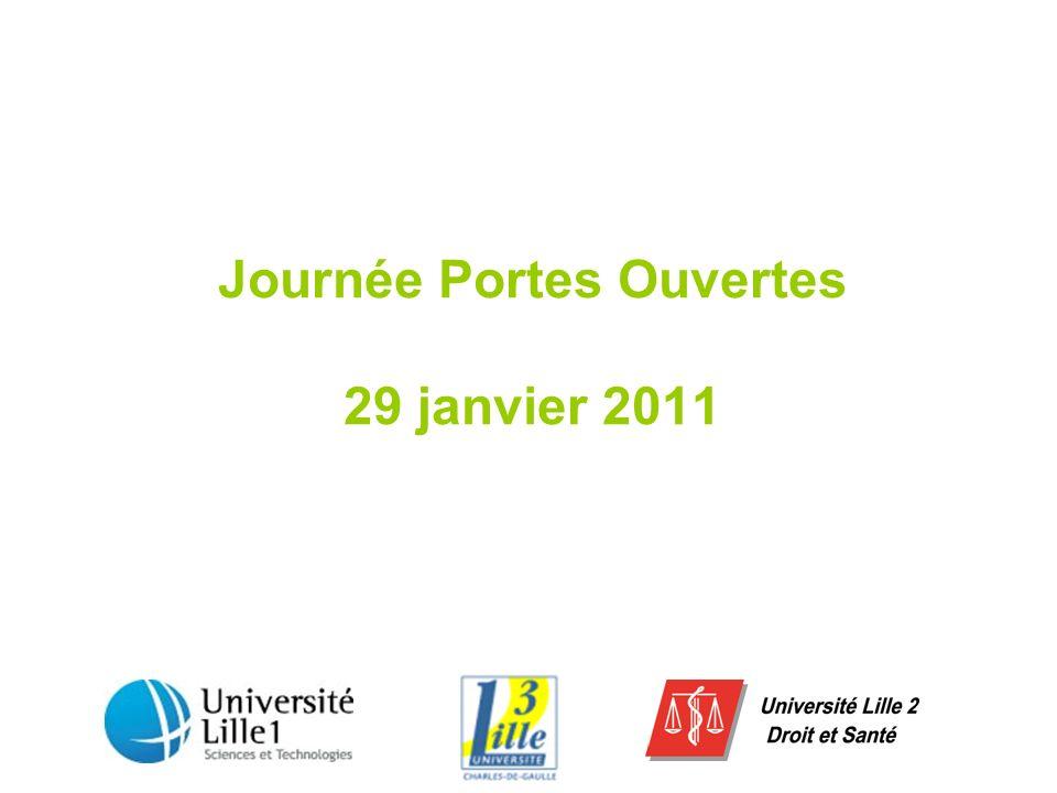 Journée Portes Ouvertes 29 janvier 2011