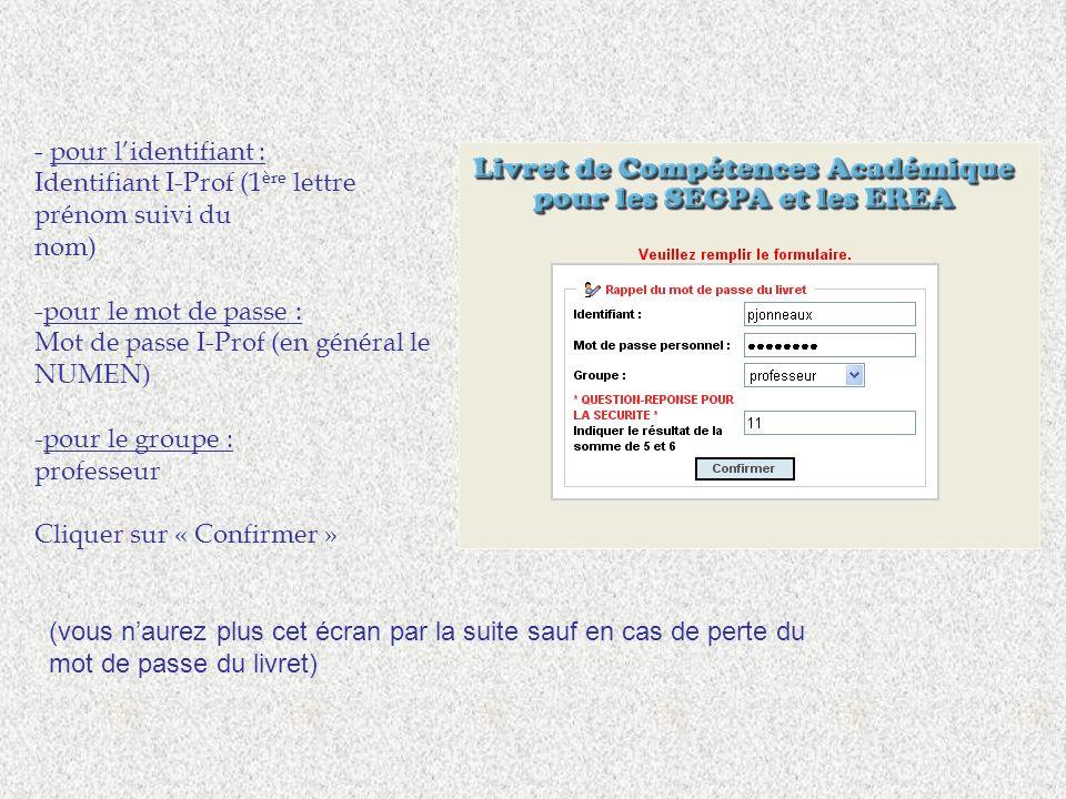 Les bilans de fin dannée, CFG, Orientation proposés par le groupe de travail de Valenciennes ASH.