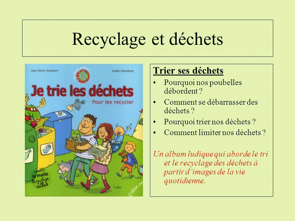 Recyclage et déchets Trier ses déchets Pourquoi nos poubelles débordent ? Comment se débarrasser des déchets ? Pourquoi trier nos déchets ? Comment li