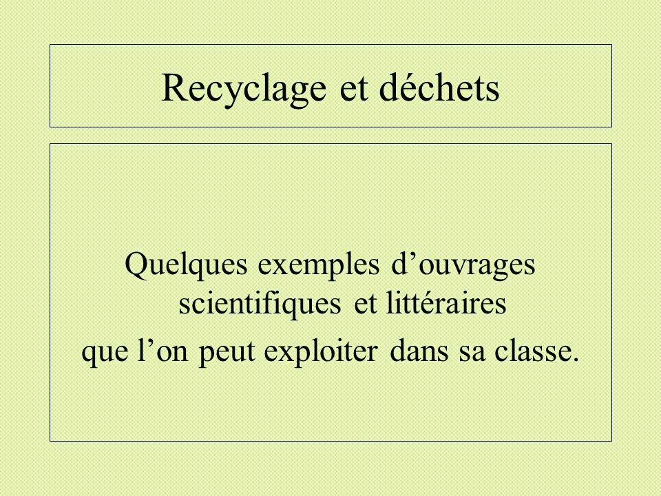 Recyclage et déchets Le voyage du Doudou dune petite fille en camion-poubelle.