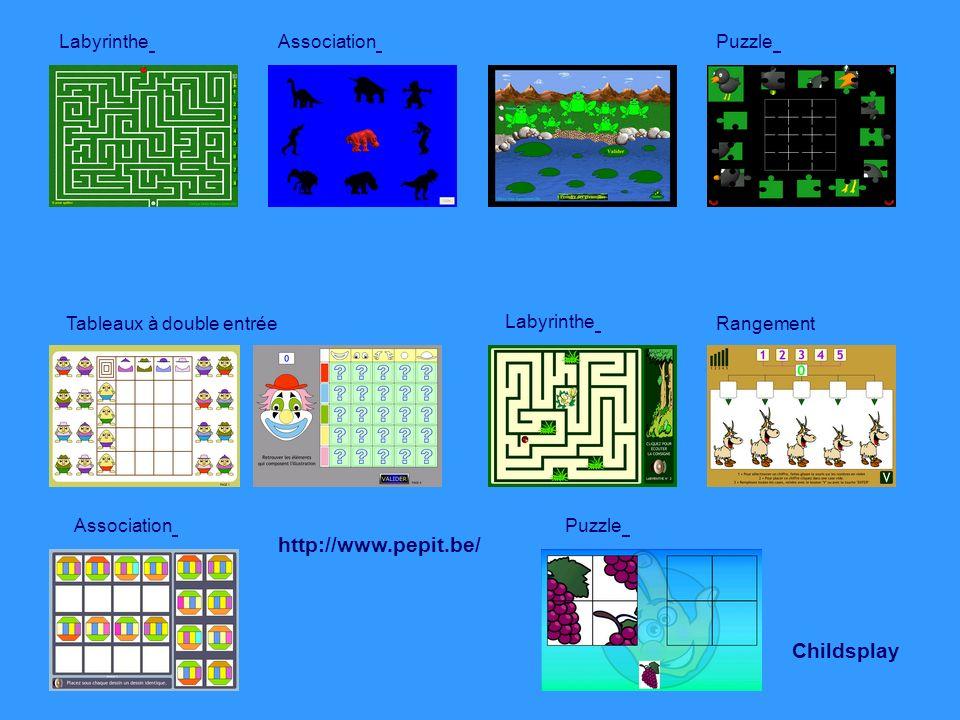 Se repérer dans lespace Les formes et les grandeurs Jeux Si vous avez des propositions de jeux que vous utilisez en classe… Merci de nous envoyer les références de ces jeux tice-0592799x@ac-lille.fr