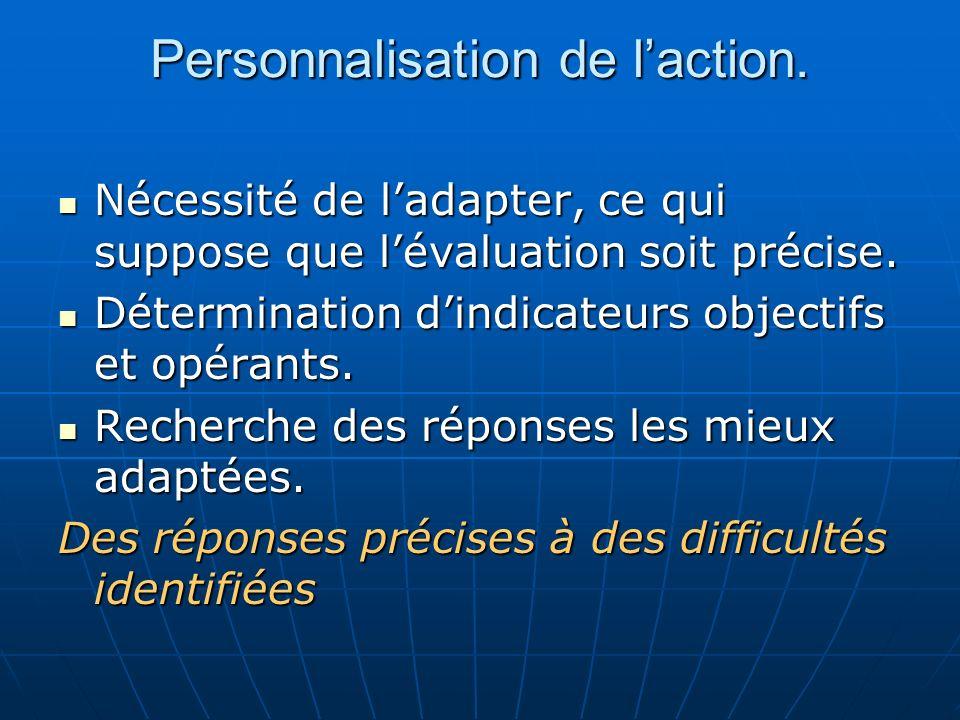 Dispositifs Le maintien ou doublement avec adaptation,le passage avec soutien.