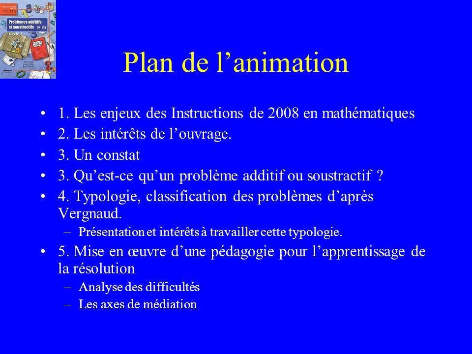 Problème Additifs et Soustractifs CP CE1 Animation du 10 novembre 2010…. Circonscription de Roubaix Ouest Adresse du site de présentation de louvrage: