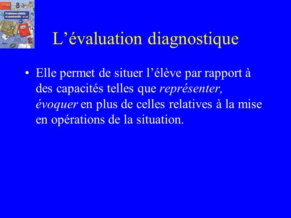 Lévaluation diagnostique