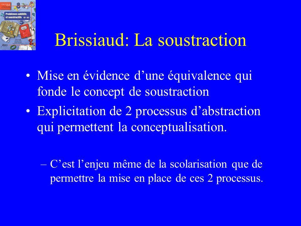 Commentaire dune conférence de Rémi Brissiaud source Irem Réunion avec leur aimable autorisation