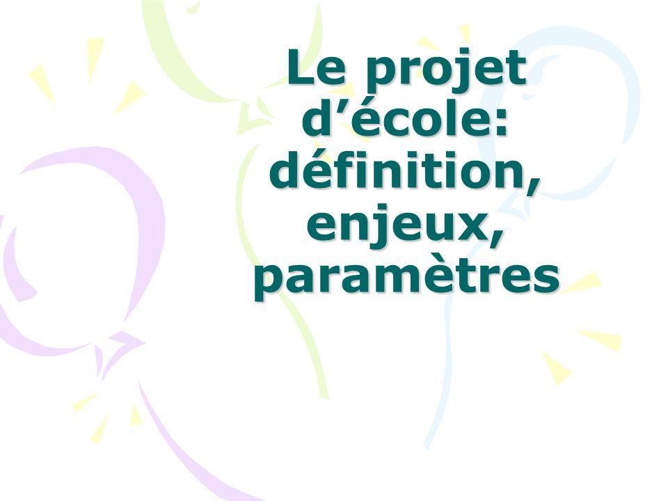 Le projet décole: définition, enjeux, paramètres