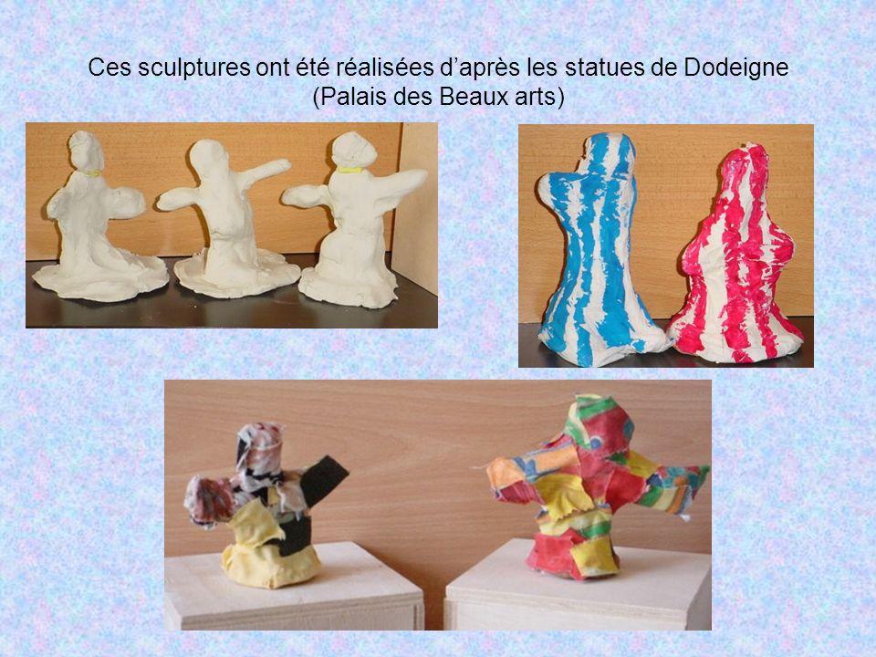 Dans ces trois séries, les enfants ont joué avec les objets en faisant varier forme, quantité, taille… Quest-ce qui change dans la « série noire » .