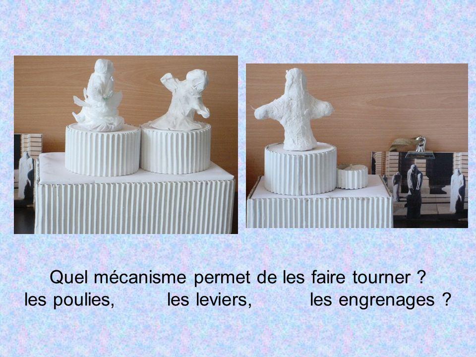 Ces sculptures ont été réalisées daprès les statues de Dodeigne (Palais des Beaux arts)