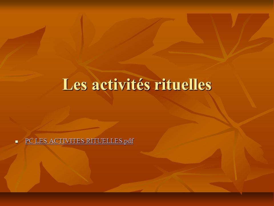 Les activités rituelles PC LES ACTIVITES RITUELLES.pdf PC LES ACTIVITES RITUELLES.pdf PC LES ACTIVITES RITUELLES.pdf PC LES ACTIVITES RITUELLES.pdf