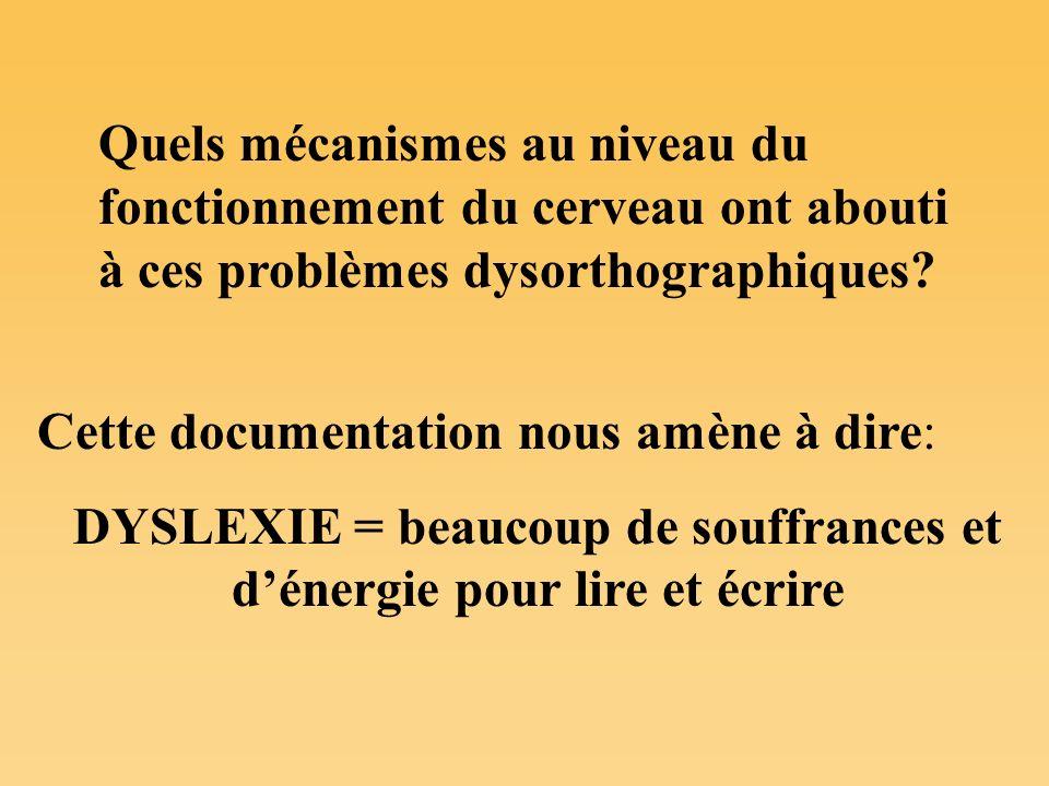 Suite logique de la réflexion : comment trouver un moyen de rendre les personnes dyslexiques complètement «bilingues», (dyslexique/françaiscompréhensible) On ne cherche pas à « gommer » leur dyslexie, la dyslexie faisant partie deux mêmes