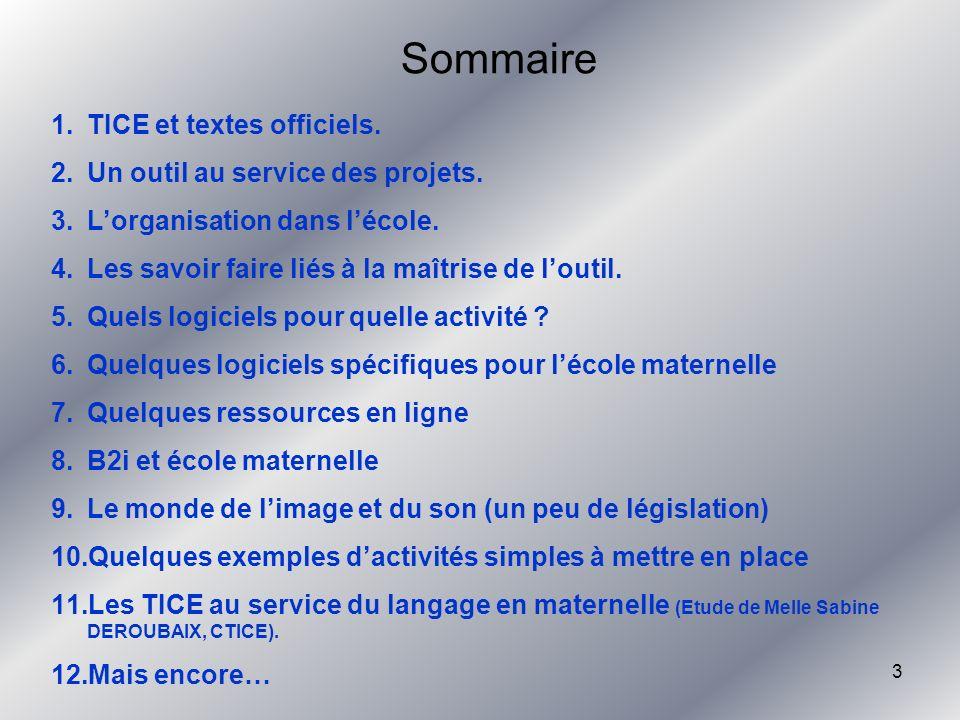 64 LE RITUEL NUMERIQUE (suite) Tout cela et plus encore dans une feuille quotidienne récapitulative… Limagination est au pouvoir…surtout en école maternelle….