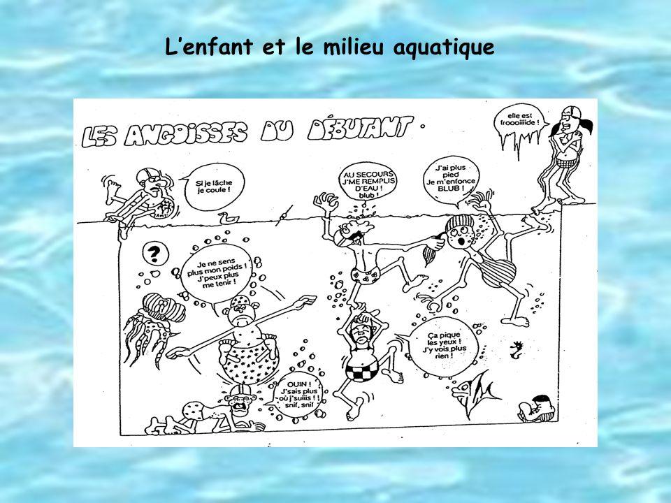 Lenfant et le milieu aquatique