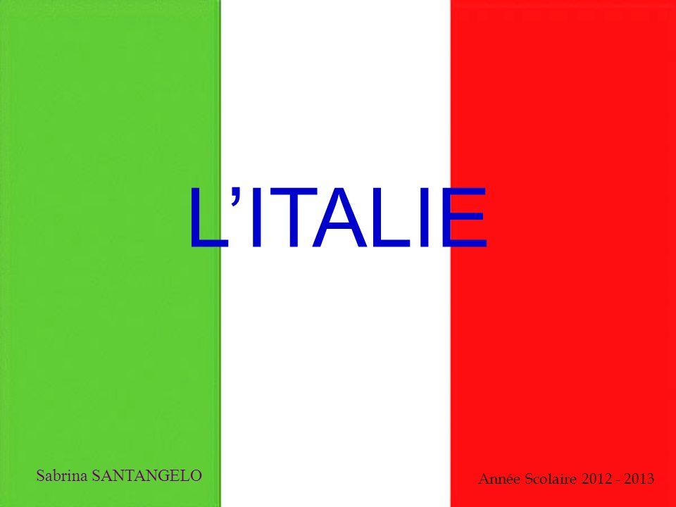 LITALIE Sabrina SANTANGELO Année Scolaire 2012 - 2013