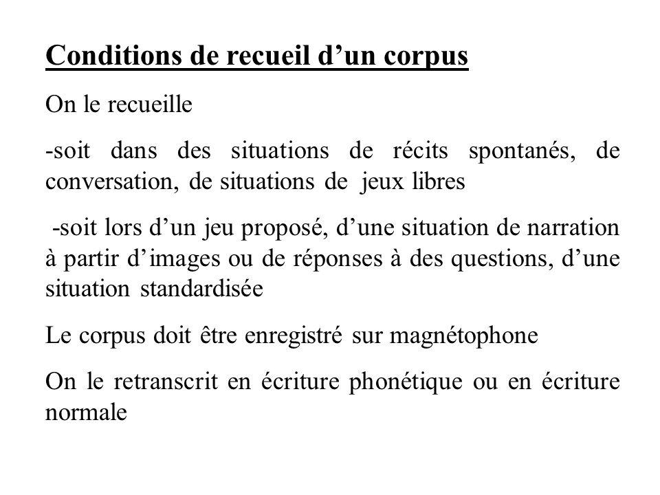 Règles de transcription /.