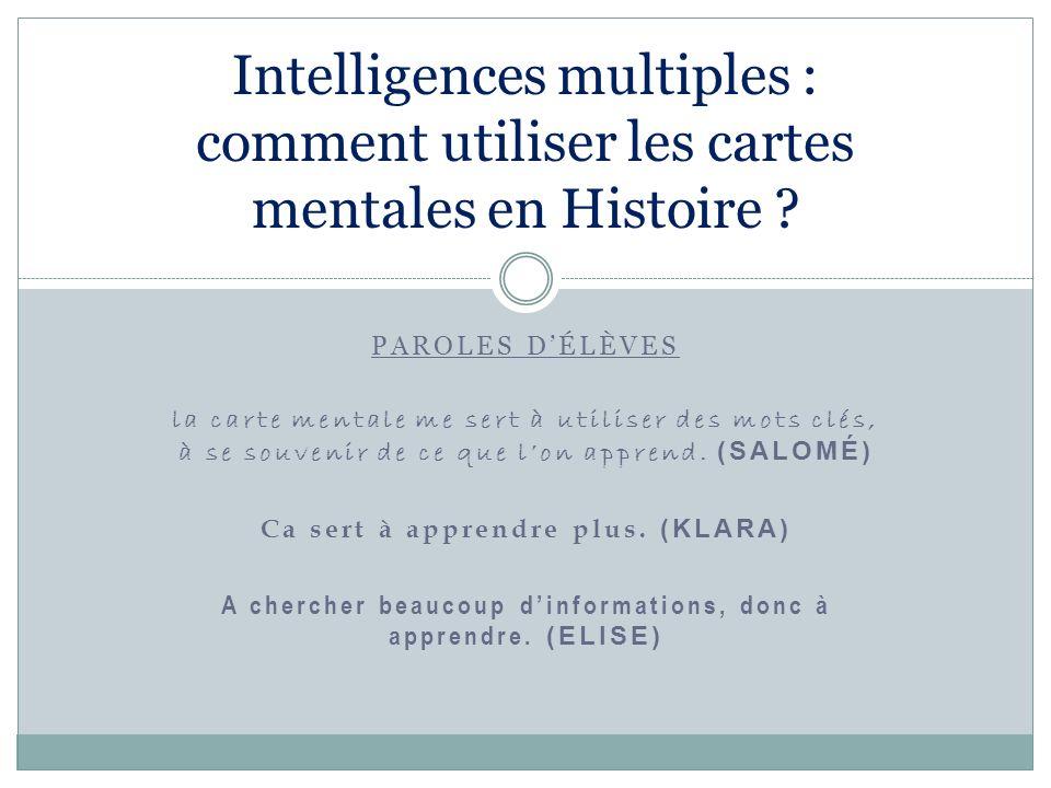 La théorie « Il ny a pas de hiérarchie entre les intelligences multiples daprès Howard Gardner.