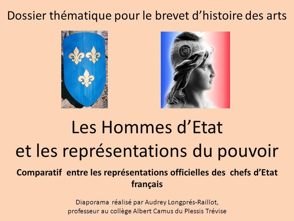 Le cadrage redevient plus large comme sur les photos officielles de de Gaulle et de Pompidou.