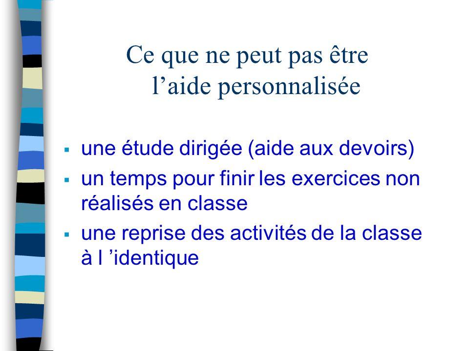 Les modalités : ä petits groupes ä varier les entrées pour éviter la redondance avec les activités pendant le temps de classe en grand groupe