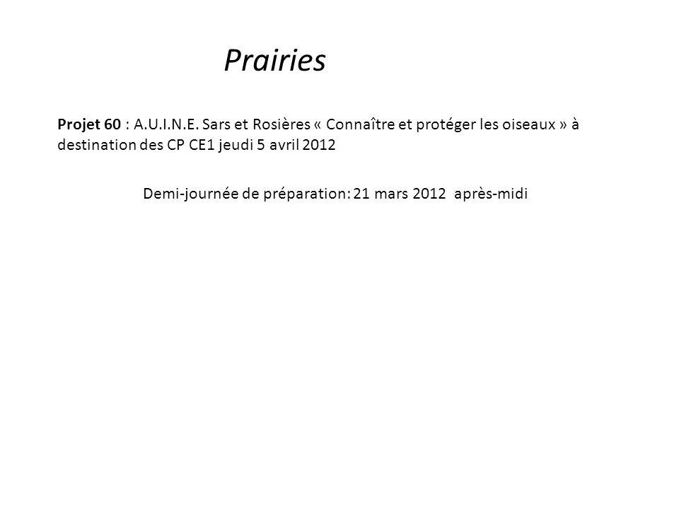 Prairies Projet 60 : A.U.I.N.E.