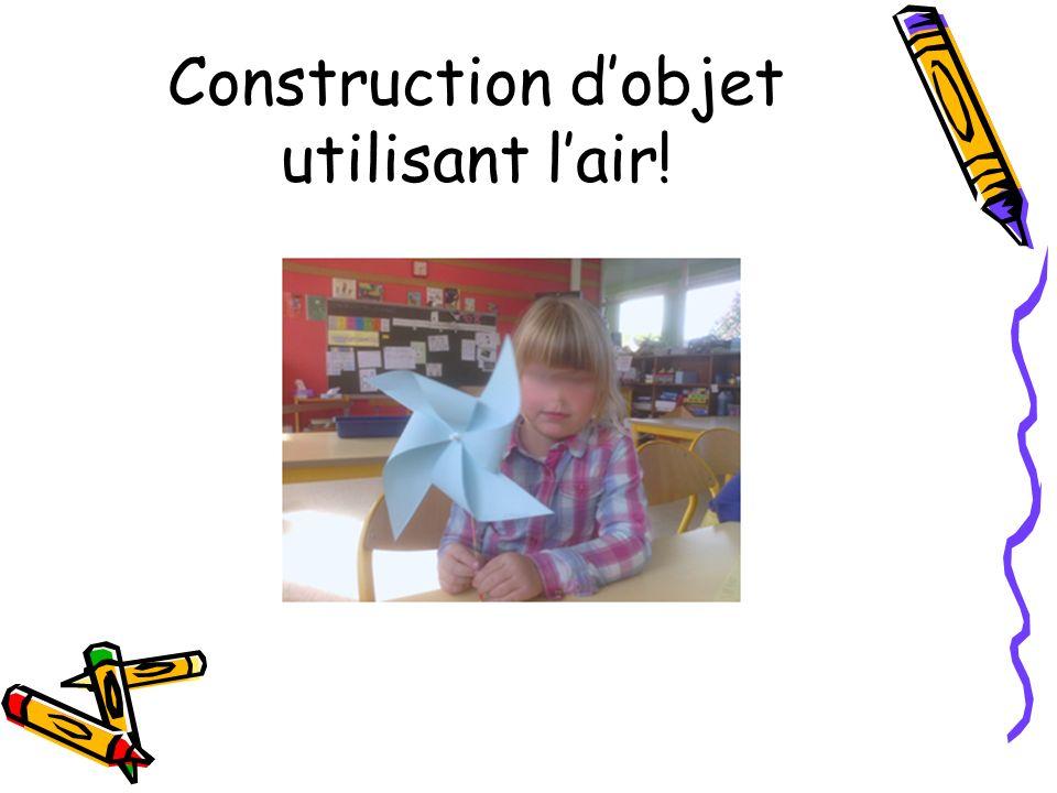 Construction dobjet utilisant lair!