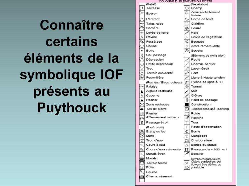 Connaître certains éléments de la symbolique IOF présents au Puythouck