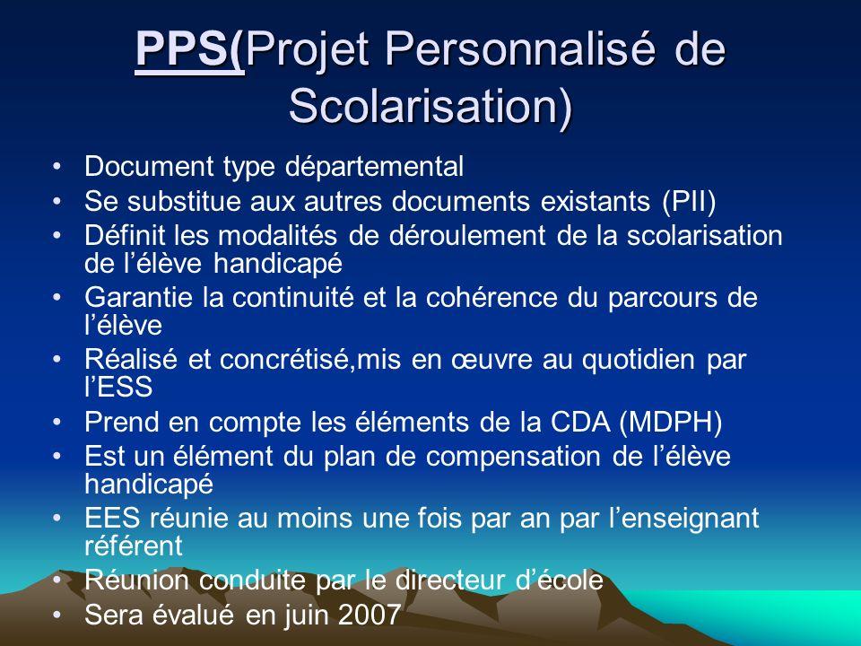 Calendrier et Documents Le PPS + annexes Le dossier de demande de plan de compensation, les 4 feuillets Calendrier pour constitution et envoie des dossiers