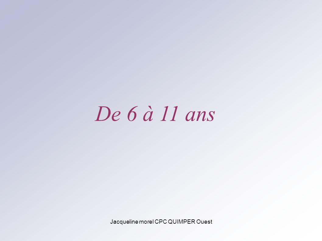 Jacqueline morel CPC QUIMPER Ouest De 6 à 11 ans